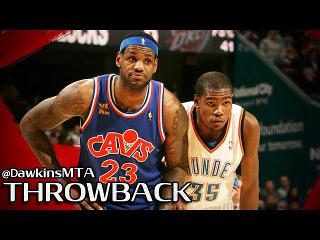 LeBron James vs Kevin Durant SUPERSTARS Duel 2010.01.23 - KD With 34, CLUTCH LBJ With 37, 12 Ast!