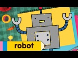 How to Draw a Robot Simple Drawing Lesson for Kids Step By Step