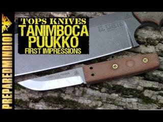 TOPS Tanimboca Puukko: First Impressions (I Like It!!) - Preparedmind101