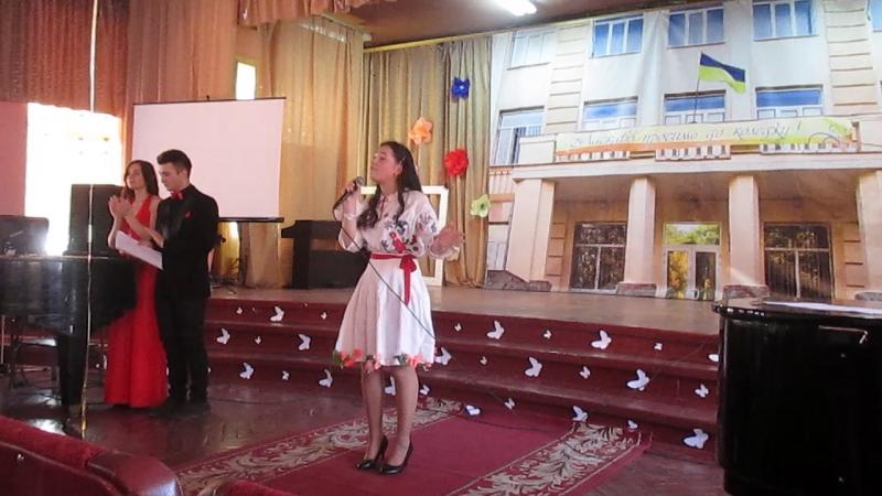 Марина Лысич - Вишиваночка (Конкурс Містер і Міс Коледжу 2017)