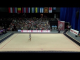 Александра Солдатова - булавы (финал) // World Challenge Cup 2017, Минск