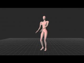 Британские учёные смоделировали идеальный женский танец
