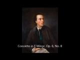 Avison Charles Сoncerto in E Minor, Op 6, No 8