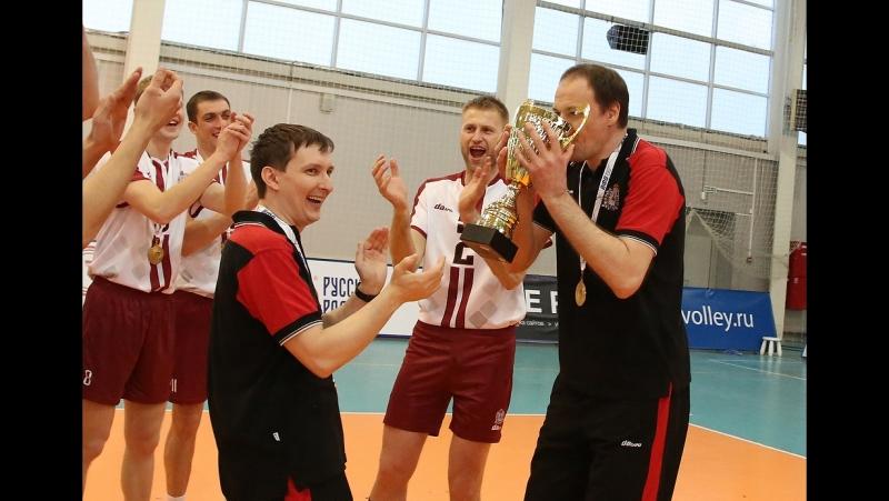 ВК АСК заканчивает сезон победой и золотом чемпионата страны