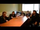 беседа с судьями после проведенной выставки РОО КЦ Югория