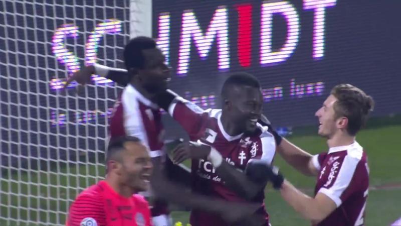 Сезон-2016/17. Лига 1. Второй гол Диабате в ворота Монпелье (21/01/2017)