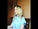 Баста - Сансара (Блондинка классно поет ♫ Шикарный голос)