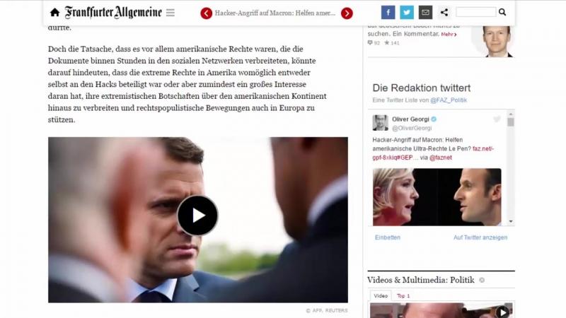 Marine Le Pen zur französische Präsidentin gewählt - Putin unterstützt Le Pen