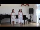 Казарян Марта и Огаркова Софья Выступление на Vll Международном фестивале старинной музыки HORTUS MUSICUS 14 04 17г