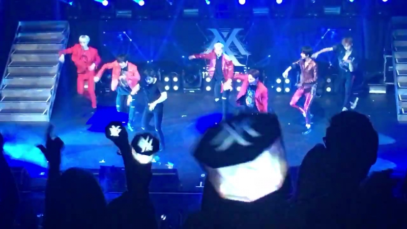 [VK][23.07.2017] MONSTA X Fancam - 'All in' @ 'THE 1ST WORLD TOUR' Beautiful in Los Angeles (D-1)