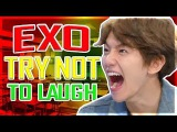 EXO - TRY NOT TO LAUGH (HARDEST VERSION) 2017