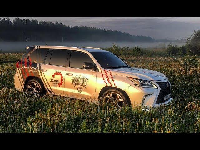 Lexus LX 570 бензин vs дизель(DIM CHIP). DRIFT MATSURI финал