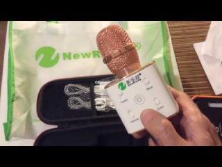 Караоке радиомикрофон mp3 плеер New Rixing K7