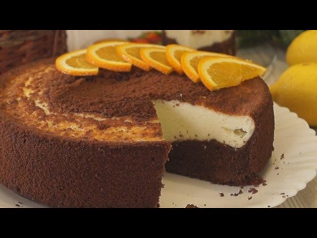 Шоколадная ватрушка с творожной начинкой. Божественный вкус!