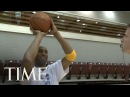 Los Angeles Lakers: Kobe Bryant Gives A Free Lesson   TIME