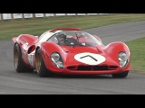 Ferrari 70th Anniversary Special at Goodwood - 333SP, F40 LM, 250 GTO, 330 P4, F1 V12 &amp More!!