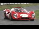 Ferrari 70th Anniversary Special at Goodwood - 333SP, F40 LM, 250 GTO, 330 P4, F1 V12 More!!