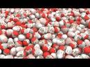 1000 киндеров!! Учим цвета с Молнией Маквин Мультик про машинки