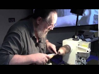Turning Double Chamber Tobacco Pipes on the Lathe
