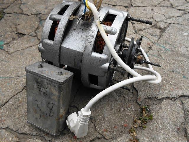 Как подключить двигатель от старой стиральной машины через конденсатор или без него rfr gjlrk.xbnm ldbufntkm jn cnfhjq cnbhfkmyj
