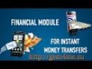 Gem4me REVOLUTION 2017 Financial module for instant money transfer Gem4me English