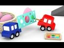Le macchinine colorate decorano le uova!   Cartoni animati per bambini