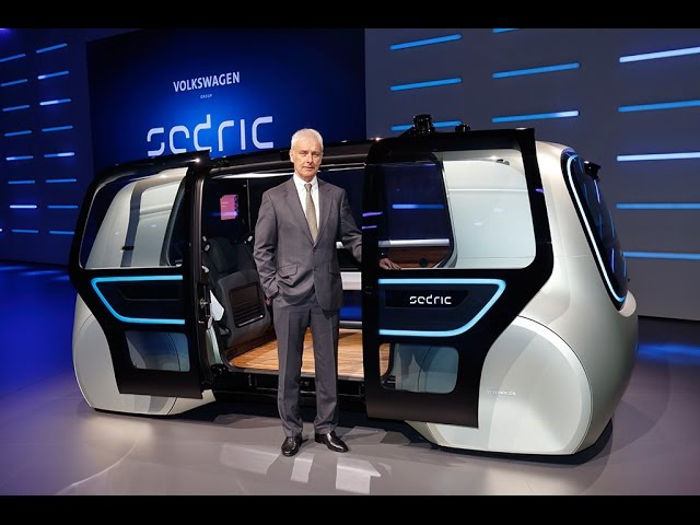 Meet Sedric: The first concept car of the Volkswagen Group