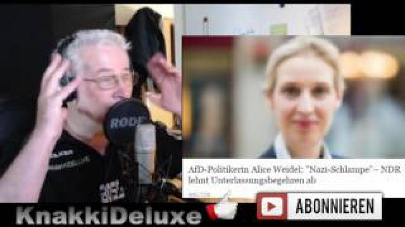 Nazi Schlampe Runde ARD ZDF WDR NRD Diktatur Einheitsbrei Alice Weidel AFD