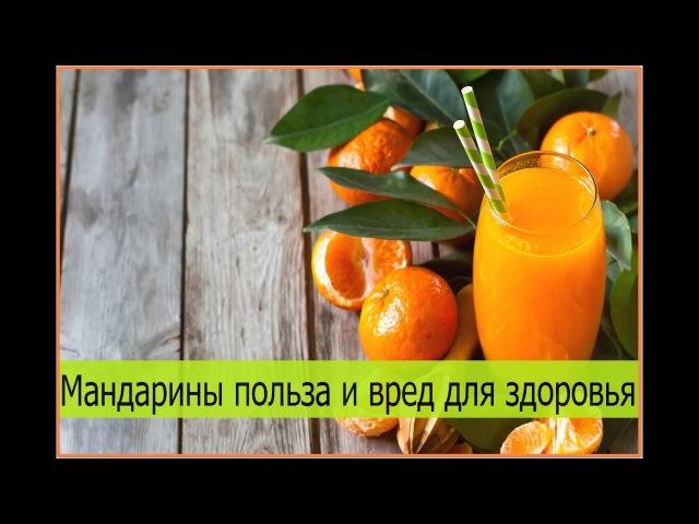 Мандарин. Польза и вред мандарин для здоровья. Чем полезны мандарины, калорийность