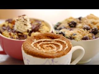 3 breakfast you can make in a mug
