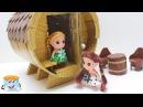 Как Сделать Своими Руками Кукольный Дом для Девочек - Мастер Класс