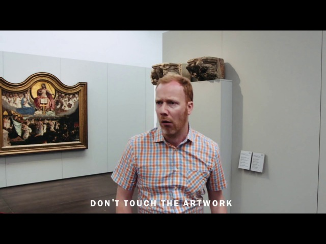 How (not) to behave in a museum