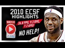 Throwback: LeBron James ECSF Offense Highlights VS Celtics 2010 Playoffs - EVERY GAME!