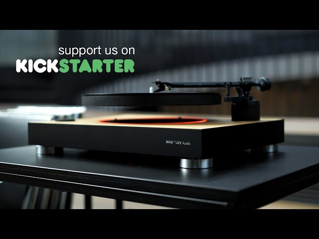 MAG-LEV Audio Worlds first levitating turntable (official)