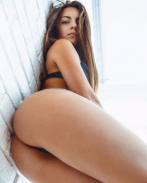 Nailed ass her gets babe ass Big