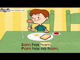 Word Families 2- Sam Has Ham - Level 1 - By Little Fox