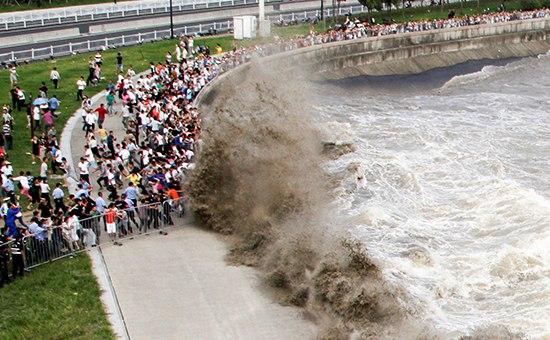 Мощное землетрясение в Японии спровоцировало цунами