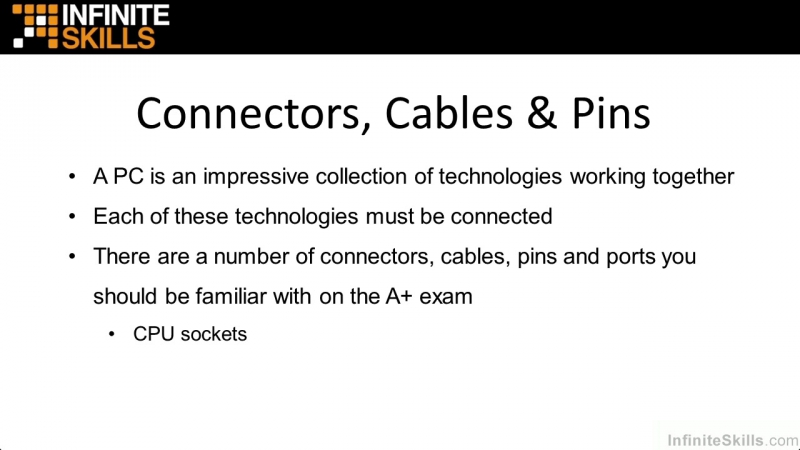05_01-Connectors, Cables, And Pins