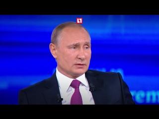Топ вопросов и ответов Путина на прямой линии