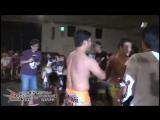 Hamuko Hoshi, Hercules Senga,Tsutomu Oosugi vs Arisa Nakajima, Takumi Tsukamoto, Command Bolshoi (6/15/2014)