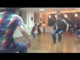 LOCKING freestyle  - тренировка.  Лаборатория Танца