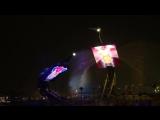 Невероятное шоу танцующих кранов на острове Сентоса в Сингапуре