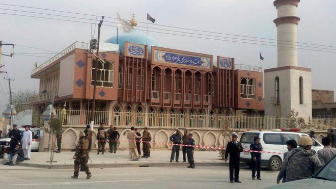 Срочно!В мечети Кабула в результате теракта погибли как минимум 27 человек