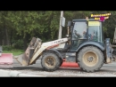 Про тракторы. Белый трактор в работе. Видео для детей Kids video tractors