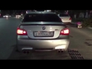 BMW M5 e60 drifting acceleration donuts