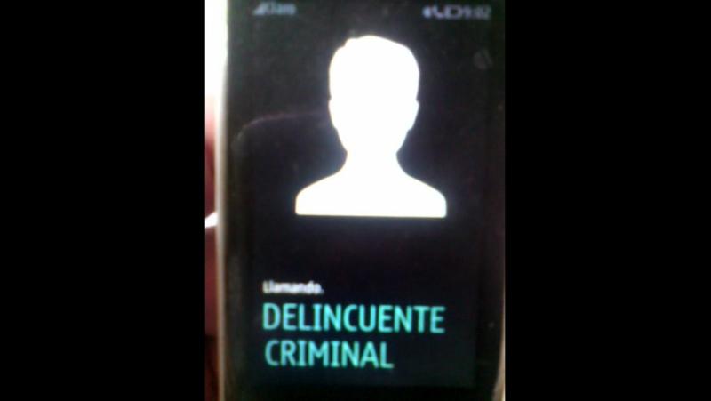 VIDEO 02 LLAMANDO AL DELINCUENTE CRIMINAL