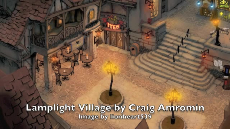 Lamplight Village by Craig Amromin