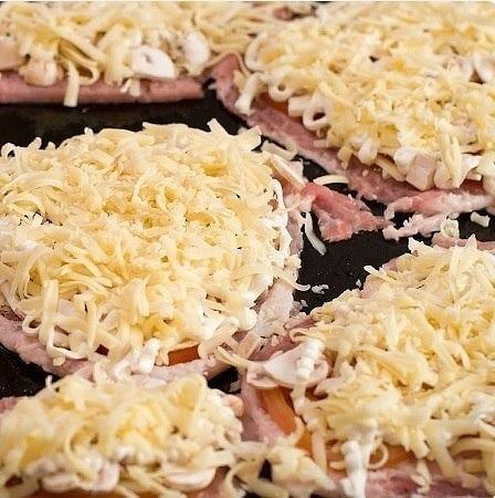 Мясо по-купечески с грибами Мясо по-купечески с грибами