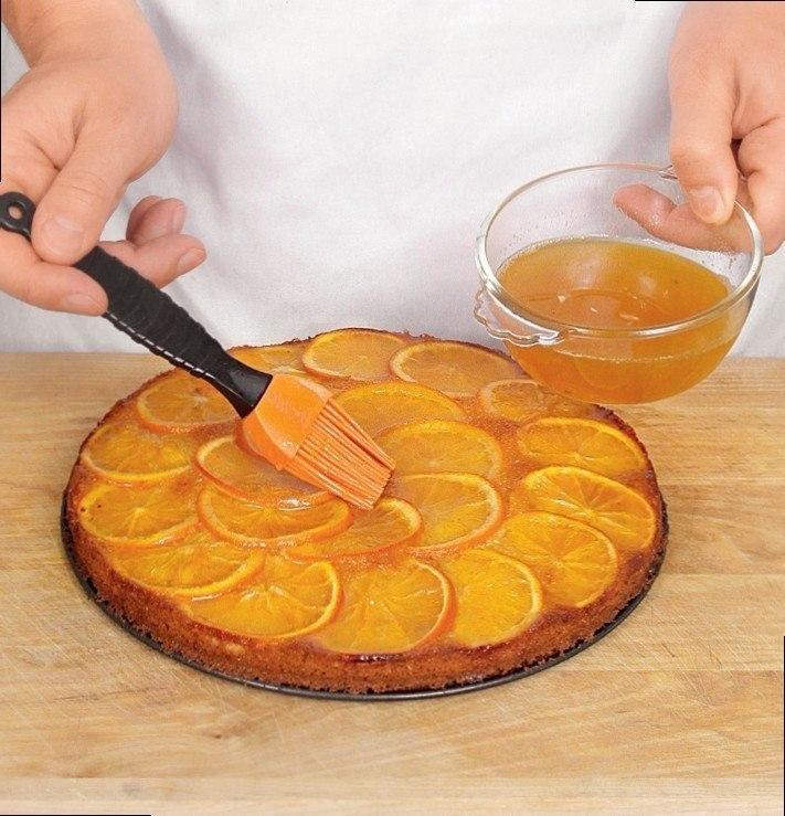 Пирог с апельсинами Яркий, как солнце, апельсиновый пирог
