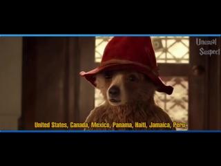 Песня из названий 168 стран в исполнении персонажей фильмов